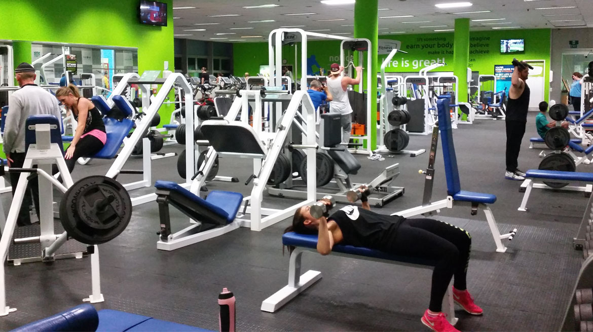 Home arena fitness and boxing gym